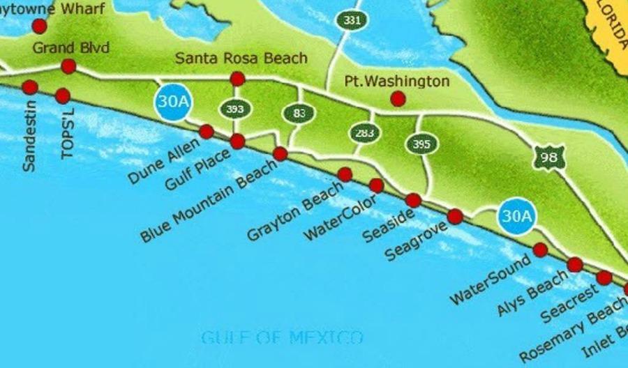 30A Bike Map